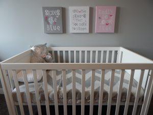 Umzug mit Kinder Babyzimmer