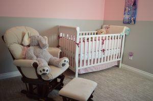 Umzug mit Kinder Mädchen Zimmer